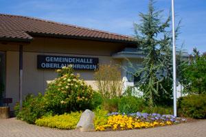 Informationen zur Gemeindehalle Oberlauchringen