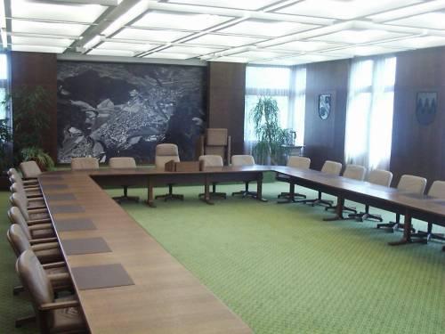 Rathaus Lauchringen - Sitzungsaal