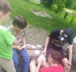Spielplatz Kartenspielen