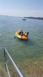 Zwei im Boot