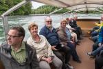Besuch des Rheinfalls in der Schweiz