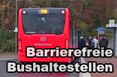 Barrierefreie Bushaltestellen
