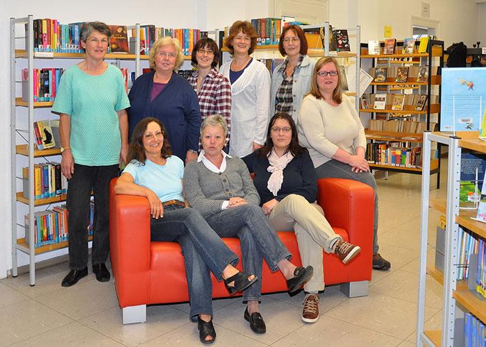Das Team der Bücherei