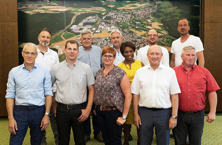 Mitglieder des Technischen Ausschusses 2019 bis 2024
