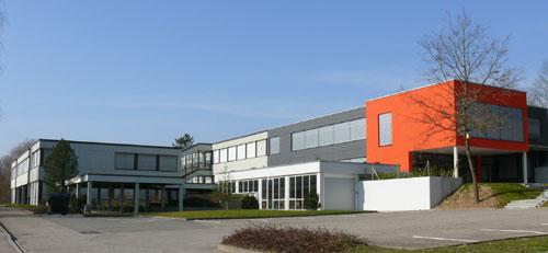 Die Hauptschule nach der Schulhauserweiterung im Jahr 2006