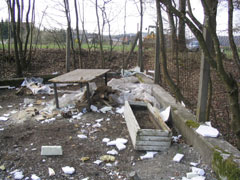 Müllablagerungen