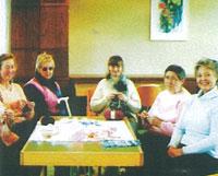 Die Handarbeitsgruppe der Sp�tlese