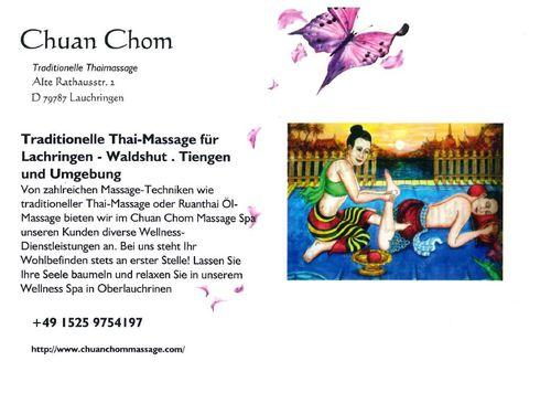 Chuan Chom Massage - Flyer Seite 2