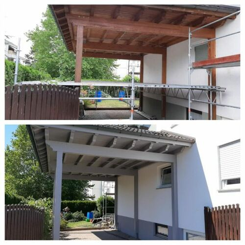 Maler Lang GbR Meisterbetrieb - Projekt Balkonsanierung