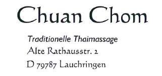 Logo von Chuan Chom Massage