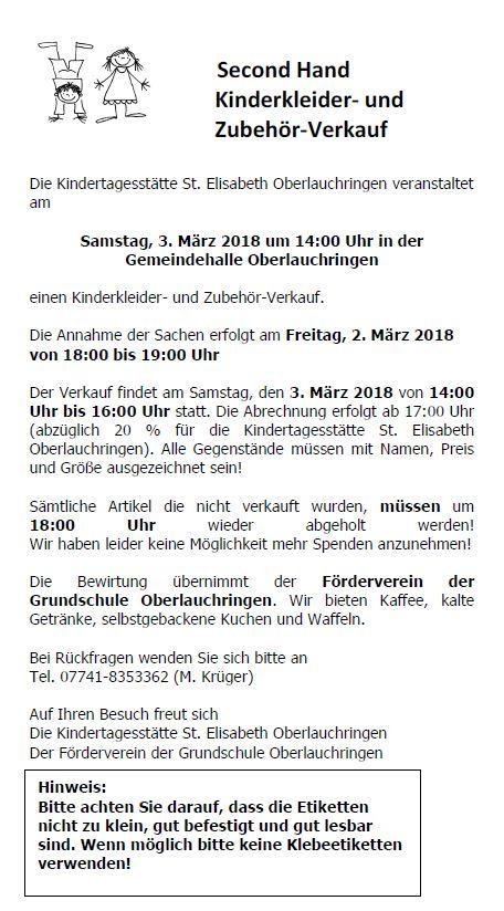 Lauchringen Online - Veranstaltungen - Bürger