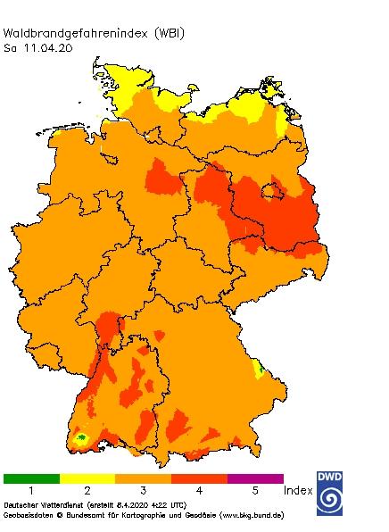 waldbrandgefahr_Deutschland_2020