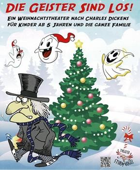 Bücherei lädt zum Weihnachtstheater ein