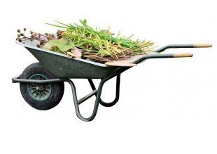 Wilde Grün- und Gartenabfall-entsorgung