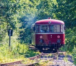 Zugverkehr Unteres Wutachtal