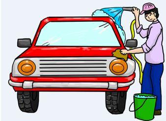 Autos waschen auf Privatgrund