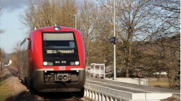 Wieder Regionalbahn- verkehr